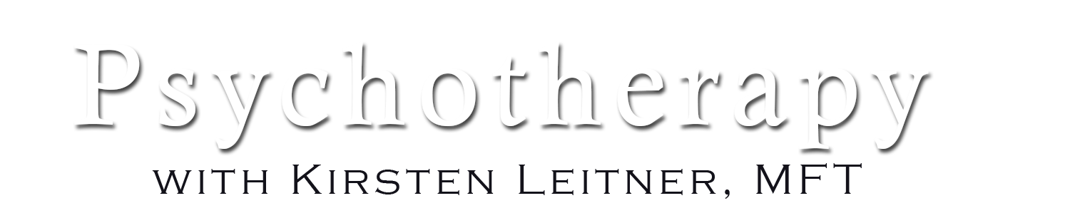 Psychotherapy with Kirsten Leitner, MFT